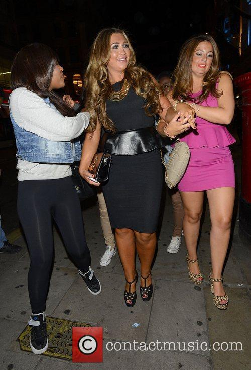 Lauren Goodger and Cafe De Paris 3