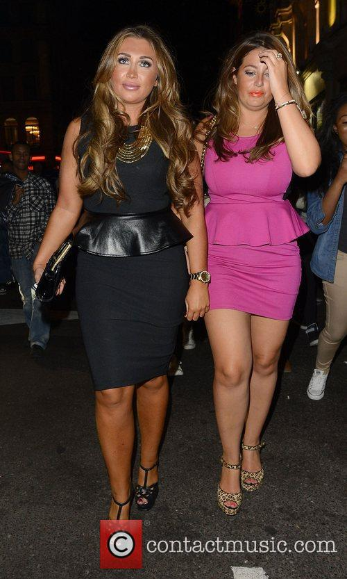 Lauren Goodger and Cafe De Paris 1
