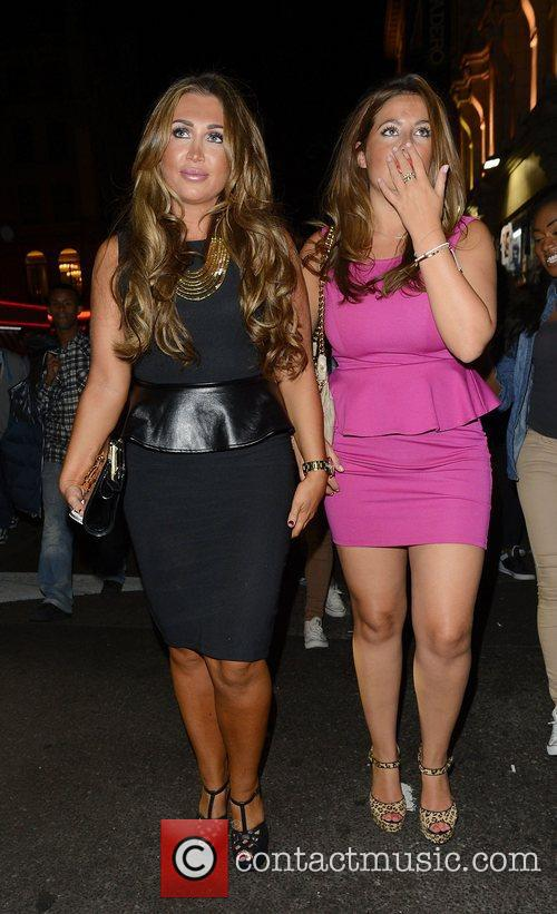 Lauren Goodger and Cafe De Paris 5