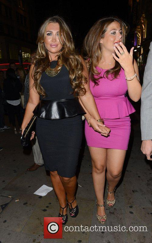 Lauren Goodger and Cafe De Paris 7
