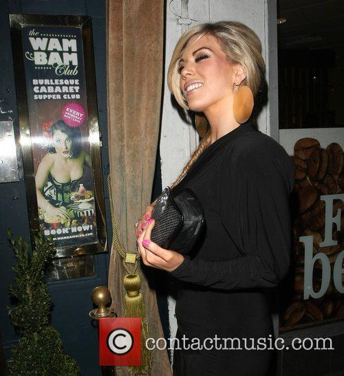 frankie essex celebrities enjoy a night out 3673815