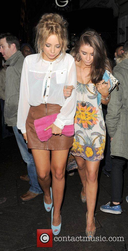 Sacha Parkinson, Brooke Vincent and Cafe De Paris 3
