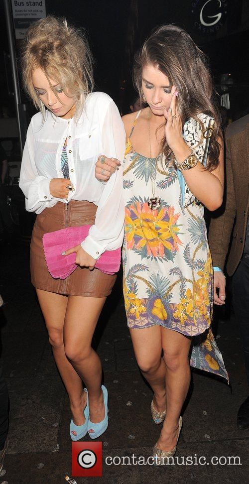 Sacha Parkinson, Brooke Vincent and Cafe De Paris 5