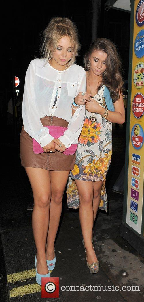 Sacha Parkinson, Brooke Vincent and Cafe De Paris 14