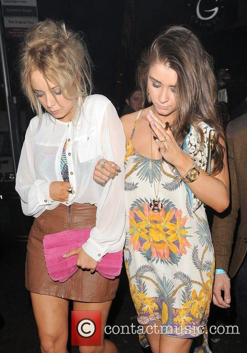 Sacha Parkinson and Brooke Vincent both appear rather...