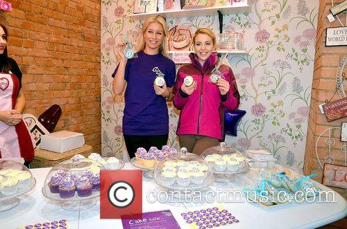 Denise Van Outen and Lydia 6