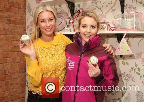 Denise Van Outen and Lydia 5