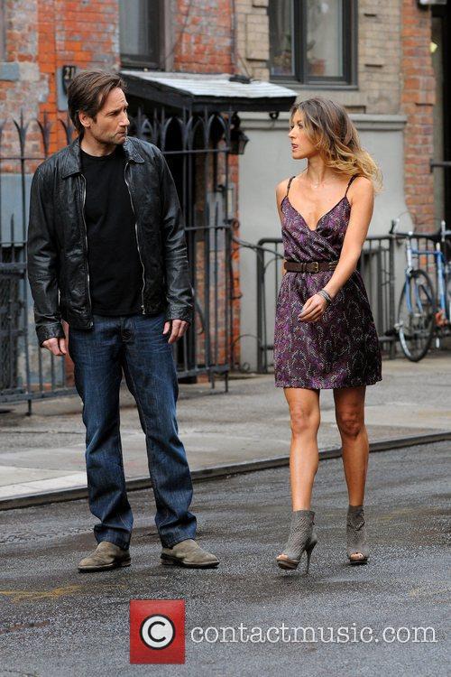 David Duchovny and Natalie Zea 3