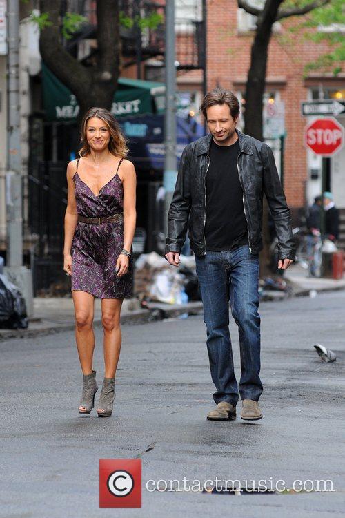 David Duchovny and Natalie Zea 5