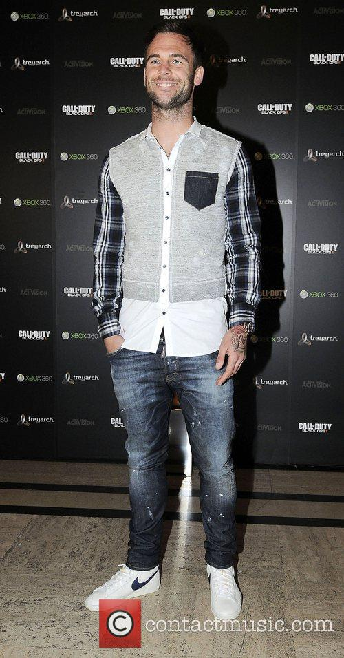 At the launch party for 'Call of Duty:...