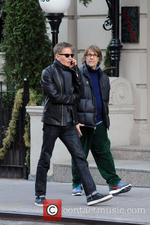Calvin Klein out and about in Manhattan with...