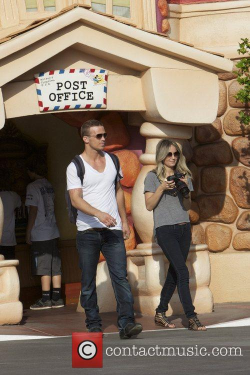 Cam Gigandet and Disneyland 8