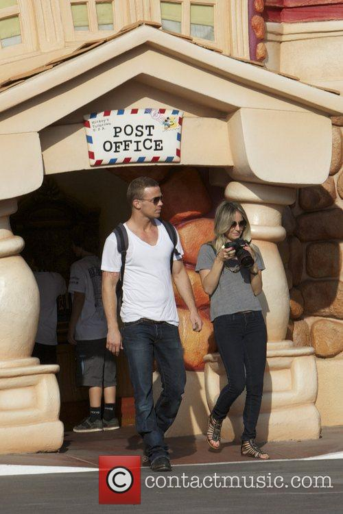 Cam Gigandet and Disneyland 15