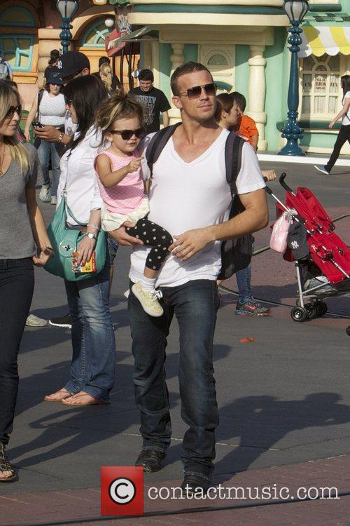 cam gigandet spends the day at disneyland 3863294