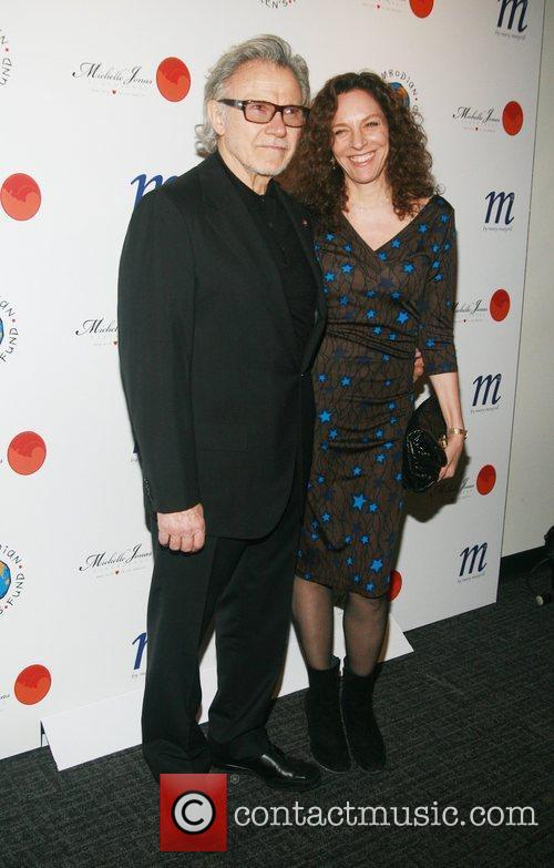 Harvey Keitel and Daphna Kastner 2