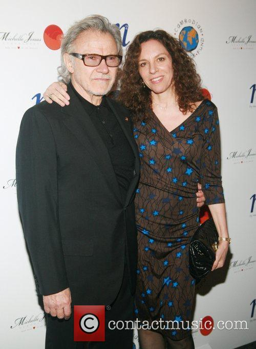 Harvey Keitel and Daphna Kastner 3