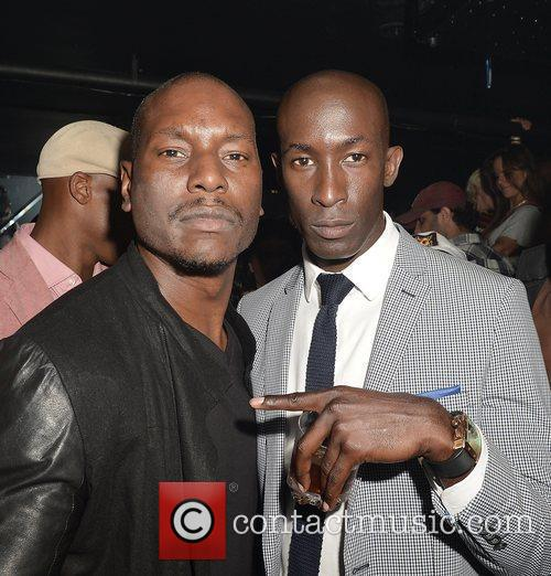 Tyrese (L) host party at Cameo Nightclub. Miami...