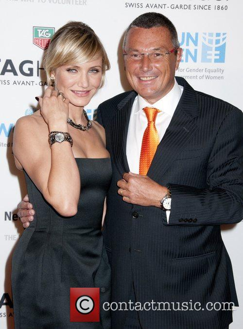 Cameron Diaz, Jean-Christophe and Babin 2