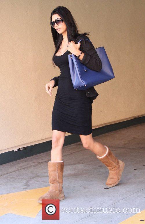 Camila Alves leaves a medical center in Beverly...