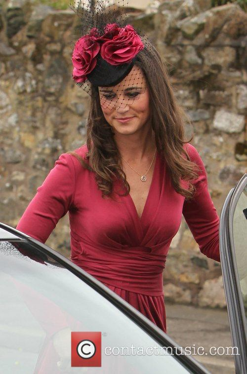 Pippa Middleton The wedding of Camilla Hook and...