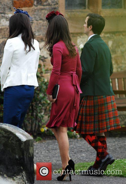 Pippa Middleton and Guests The wedding of Camilla...