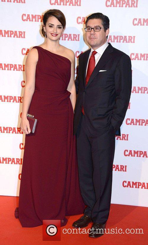 Penelope Cruz, Campari Ceo Bob and Kunze-concewitz