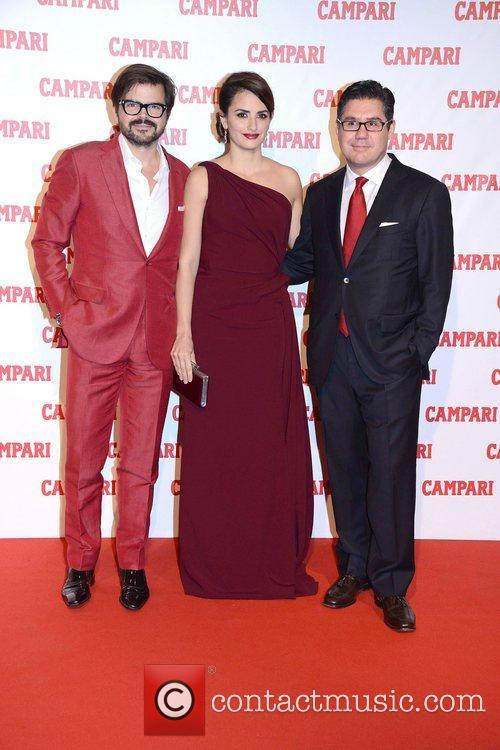 Photographer Kristian Schuller, Penelope Cruz, Campari Ceo Bob and Kunze-concewitz 7