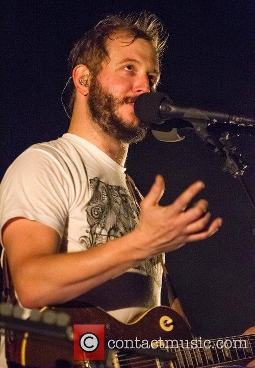 Bon Iver performs live at Campo Pequeno Lisbon,...