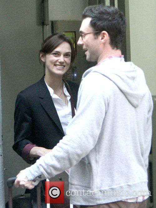 Adam Levine and Keira Knightley 8