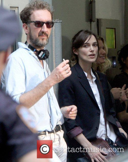 Director John Carney and Keira Knightley on the...