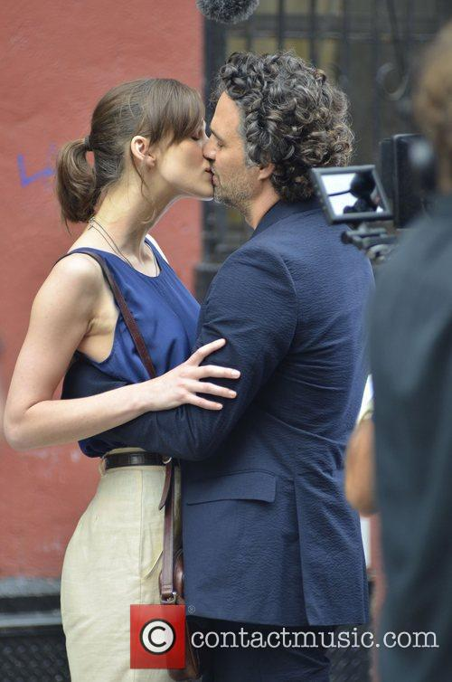 Keira Knightley and Mark Ruffalo 1
