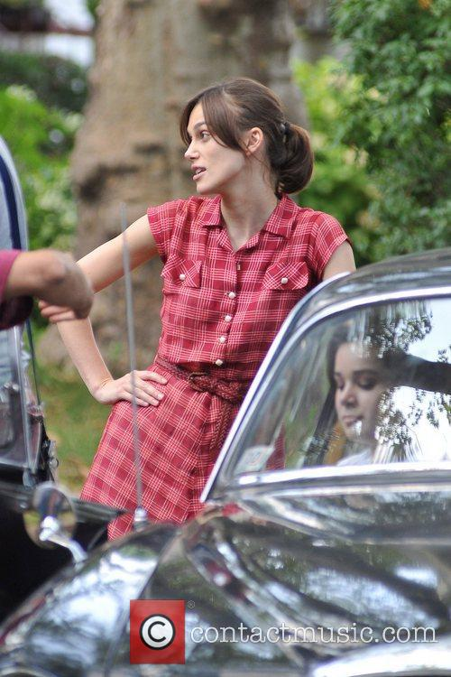 Keira Knightley  on the set of 'Can...