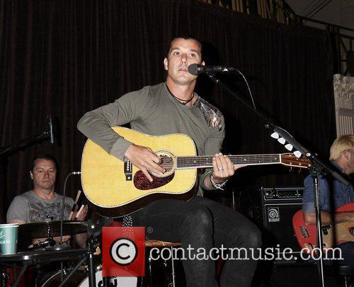 Gavin Rossdale and Wall Street 6