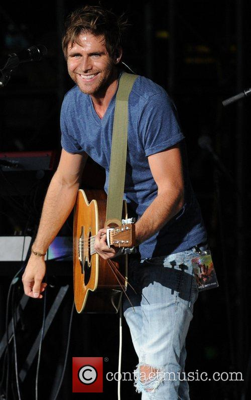 Canaan Smith  performing during the 'In Your...