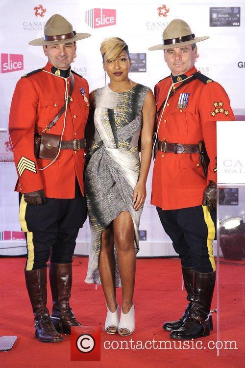 Melanie Fiona  Canada's Walk of Fame Star...