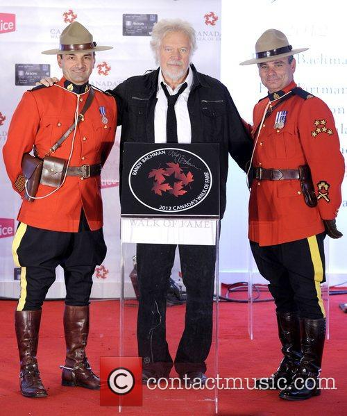 Randy Bachman Canada's Walk of Fame Star unveilings...
