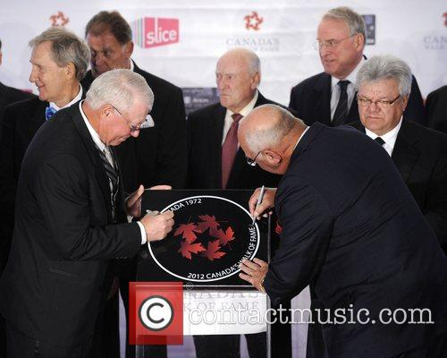 Canada's Walk of Fame Star unveilings at the...
