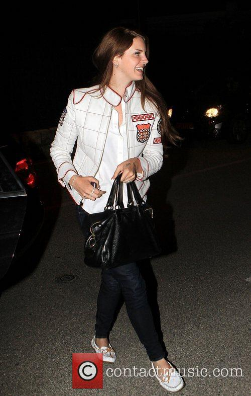 Lana Del Ray out and about for the...