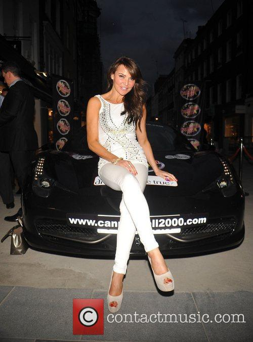 Lizzie Cundy Cannonball launch party held at Amika...