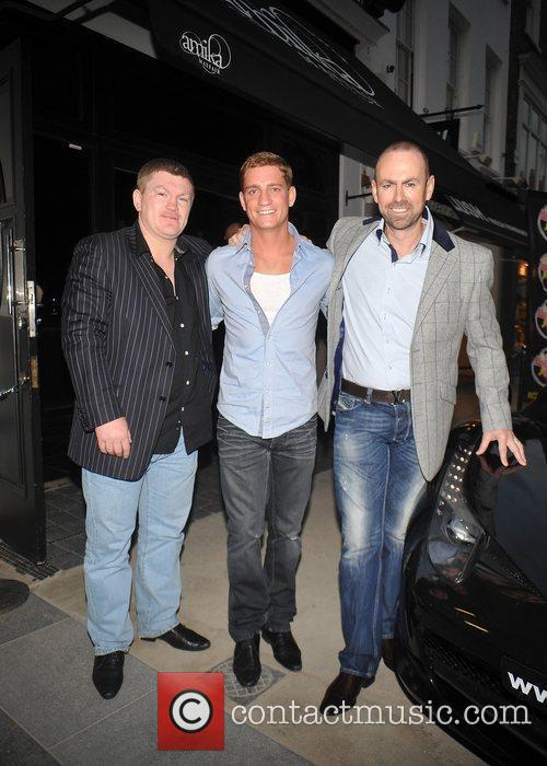 Philip Olivier, Ricky Hatton and Guest Cannonball launch...