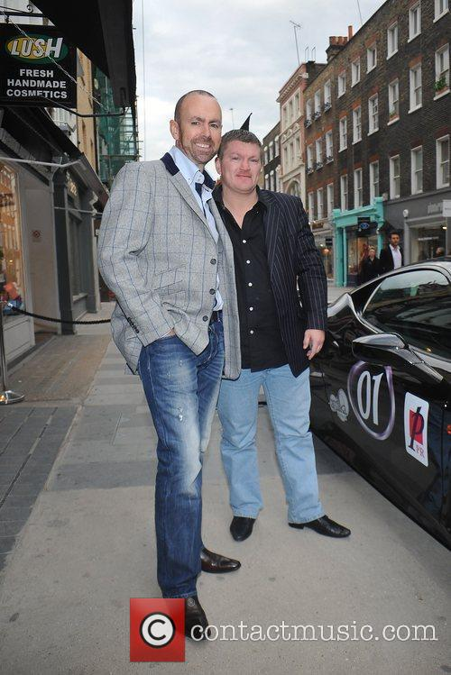 Ricky Hatton Cannonball launch party held at Amika...
