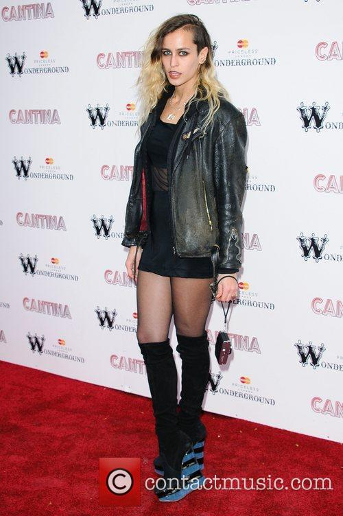 Alice Dellal 'Cantina' opening night at London Wonderground,...