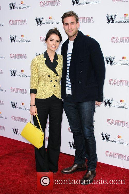 Charlotte Riley and Oliver Jackson-cohen 2