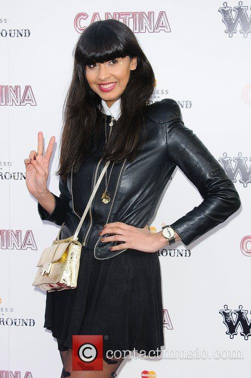 Jameela Jamil 'Cantina' opening night at London Wonderground,...