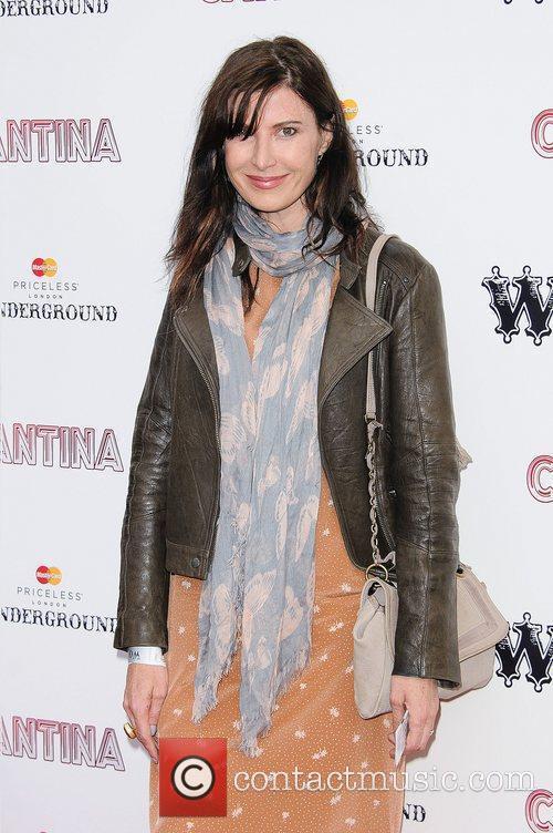 Ronni Ancona 'Cantina' opening night at London Wonderground,...