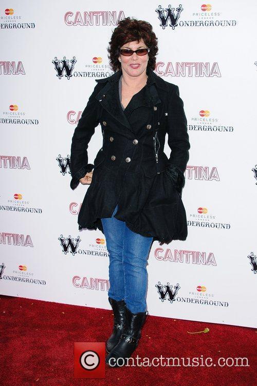 Ruby Wax 'Cantina' opening night at London Wonderground,...