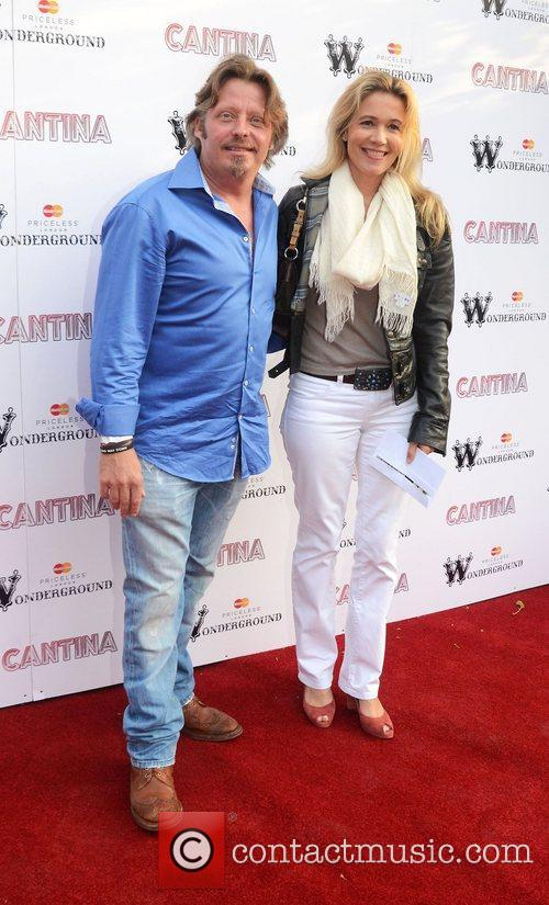 Charlie Boorman and Olivia Boorman  'Cantina' opening...