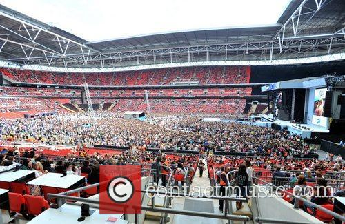 Capital FM Summertime Ball held at Wembley Stadium