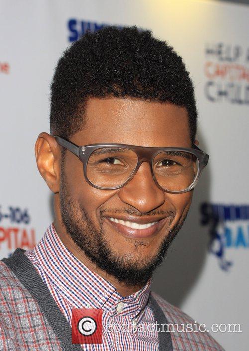 Usher and Wembley Stadium 1