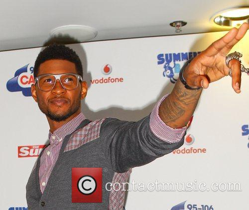 Usher and Wembley Stadium 6